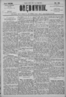 Orędownik: pismo dla spraw politycznych i społecznych 1906.02.17 R.36 Nr38