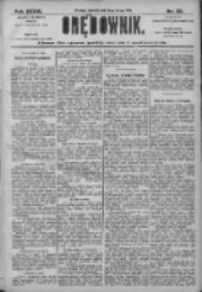 Orędownik: pismo dla spraw politycznych i społecznych 1906.02.18 R.38 Nr39