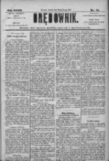 Orędownik: pismo dla spraw politycznych i społecznych 1906.02.20 R.36 Nr40