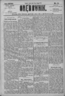 Orędownik: pismo dla spraw politycznych i społecznych 1906.02.21 R.36 Nr41