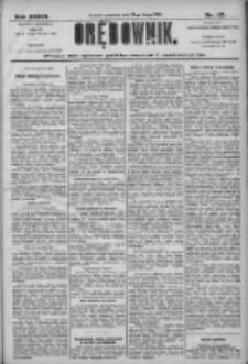 Orędownik: pismo dla spraw politycznych i społecznych 1906.02.22 R.36 Nr42