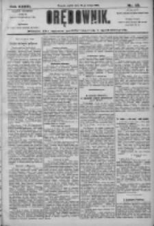 Orędownik: pismo dla spraw politycznych i społecznych 1906.02.23 R.36 Nr43