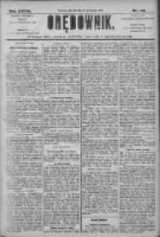 Orędownik: pismo dla spraw politycznych i społecznych 1906.02.27 R.36 Nr46