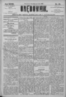 Orędownik: pismo dla spraw politycznych i społecznych 1906.03.01 R.36 Nr48