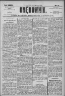 Orędownik: pismo dla spraw politycznych i społecznych 1906.03.04 R.36 Nr51