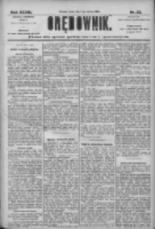 Orędownik: pismo dla spraw politycznych i społecznych 1906.03.07 R.36 Nr53