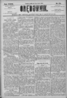 Orędownik: pismo dla spraw politycznych i społecznych 1906.03.09 R.36 Nr55