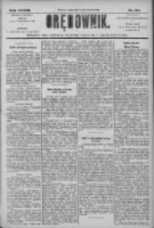 Orędownik: pismo dla spraw politycznych i społecznych 1906.03.14 R.36 Nr59