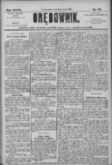 Orędownik: pismo dla spraw politycznych i społecznych 1906.03.17 R.36 Nr62