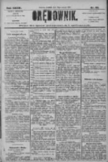 Orędownik: pismo dla spraw politycznych i społecznych 1906.03.18 R.36 Nr63