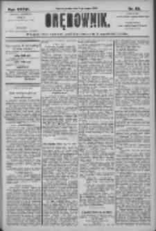 Orędownik: pismo dla spraw politycznych i społecznych 1906.03.21 R.36 Nr65
