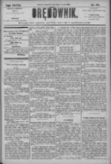 Orędownik: pismo dla spraw politycznych i społecznych 1906.03.22 R.36 Nr66