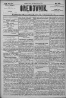 Orędownik: pismo dla spraw politycznych i społecznych 1906.03.24 R.36 Nr68