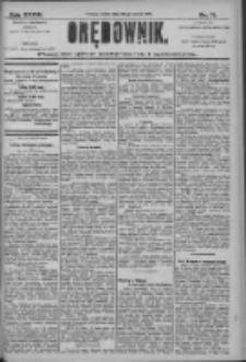 Orędownik: pismo dla spraw politycznych i społecznych 1906.03.28 R.36 Nr71
