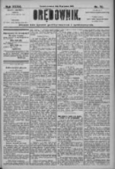 Orędownik: pismo dla spraw politycznych i społecznych 1906.03.29 R.36 Nr72