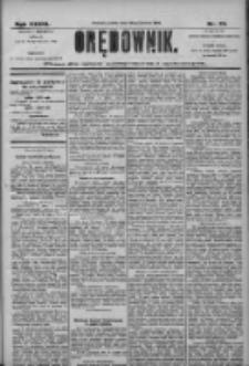 Orędownik: pismo dla spraw politycznych i społecznych 1906.03.30 R.36 Nr73