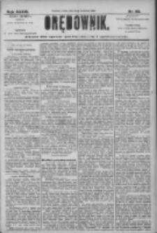 Orędownik: pismo dla spraw politycznych i społecznych 1906.04.11 R.36 Nr83