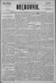 Orędownik: pismo dla spraw politycznych i społecznych 1906.04.12 R.36 Nr84