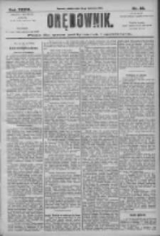 Orędownik: pismo dla spraw politycznych i społecznych 1906.04.14 R.36 Nr86