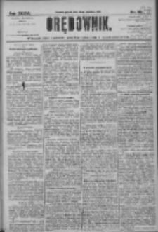 Orędownik: pismo dla spraw politycznych i społecznych 1906.04.20 R.36 Nr90