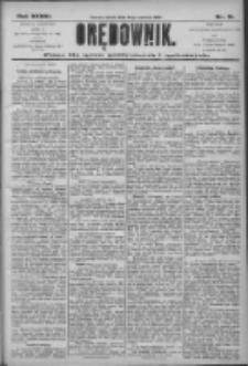 Orędownik: pismo dla spraw politycznych i społecznych 1906.04.21 R.36 Nr91