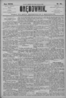 Orędownik: pismo dla spraw politycznych i społecznych 1906.04.22 R.36 Nr92