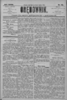 Orędownik: pismo dla spraw politycznych i społecznych 1906.04.26 R.36 Nr95