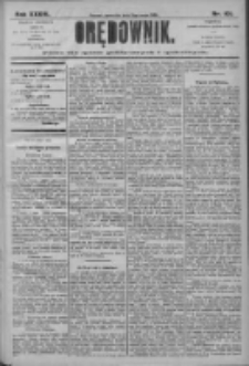 Orędownik: pismo dla spraw politycznych i społecznych 1906.05.03 R.36 Nr101