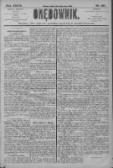 Orędownik: pismo dla spraw politycznych i społecznych 1906.05.11 R.36 Nr107