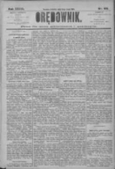 Orędownik: pismo dla spraw politycznych i społecznych 1906.05.13 R.36 Nr109