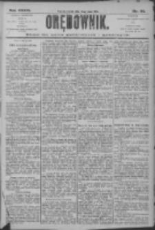 Orędownik: pismo dla spraw politycznych i społecznych 1906.05.19 R.36 Nr114