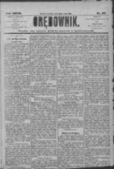 Orędownik: pismo dla spraw politycznych i społecznych 1906.05.20 R.36 Nr115