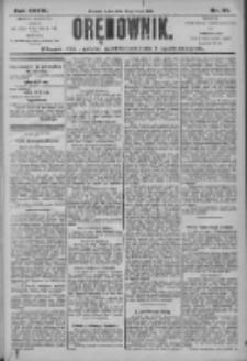 Orędownik: pismo dla spraw politycznych i społecznych 1906.05.23 R.36 Nr117