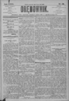 Orędownik: pismo dla spraw politycznych i społecznych 1906.05.24 R.36 Nr118
