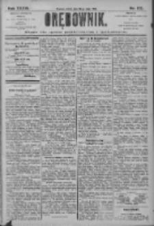 Orędownik: pismo dla spraw politycznych i społecznych 1906.05.30 R.36 Nr122