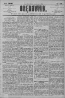 Orędownik: pismo dla spraw politycznych i społecznych 1906.06.09 R.36 Nr130