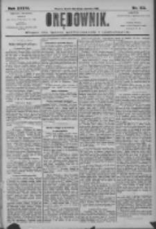 Orędownik: pismo dla spraw politycznych i społecznych 1906.06.13 R.36 Nr133