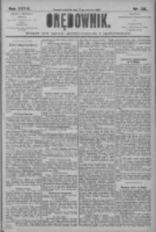 Orędownik: pismo dla spraw politycznych i społecznych 1906.06.17 R.36 Nr136