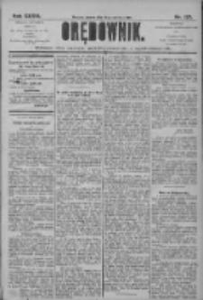 Orędownik: pismo dla spraw politycznych i społecznych 1906.06.19 R.36 Nr137