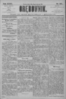 Orędownik: pismo dla spraw politycznych i społecznych 1906.06.22 R.36 Nr 140