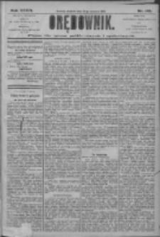 Orędownik: pismo dla spraw politycznych i społecznych 1906.06.24 R.36 Nr142