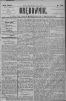 Orędownik: pismo dla spraw politycznych i społecznych 1906.06.27 R.36 Nr144
