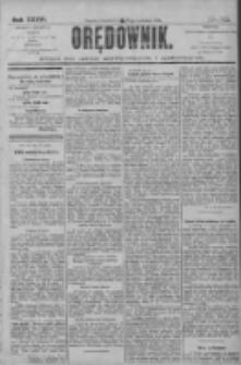 Orędownik: pismo dla spraw politycznych i społecznych 1906.06.28 R.36 Nr145