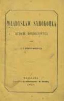 Władysław Syrokomla (Ludwik Kondratowicz)