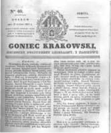 Goniec Krakowski: dziennik polityczny, liberalny i naukowy. 1831.02.19 nr40
