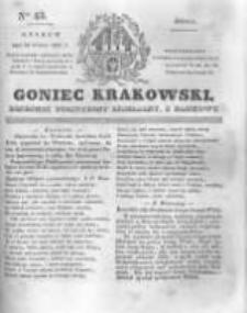 Goniec Krakowski: dziennik polityczny, liberalny i naukowy. 1831.02.23 nr43