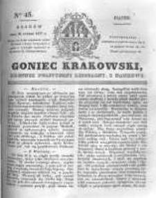 Goniec Krakowski: dziennik polityczny, liberalny i naukowy. 1831.02.25 nr45
