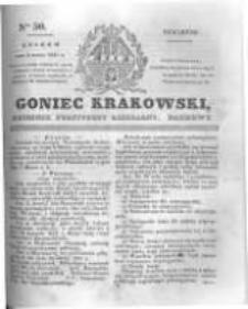 Goniec Krakowski: dziennik polityczny, liberalny i naukowy. 1831.03.03 nr50