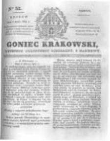 Goniec Krakowski: dziennik polityczny, liberalny i naukowy. 1831.03.05 nr52