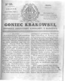 Goniec Krakowski: dziennik polityczny, liberalny i naukowy. 1831.03.09 nr55
